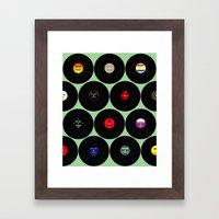 Vinyl Love Framed Art Print