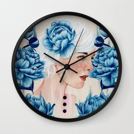 Wall Clock - One With Me II - The White Deer