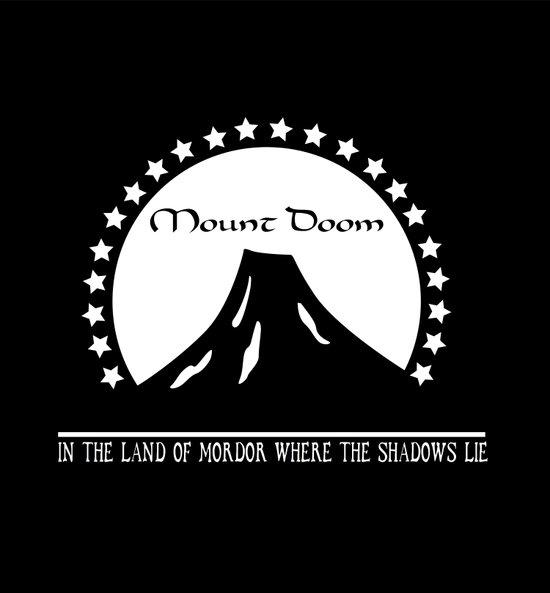 Mount Doom Art Print