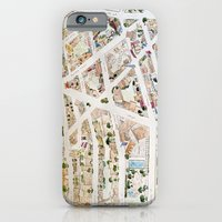 Greenwich Village Map By… iPhone 6 Slim Case