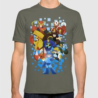 Megaman 2 Mens Fitted Tee Lieutenant SMALL
