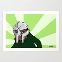 Doom Art Print