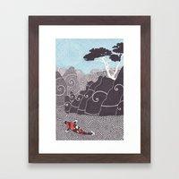 Asian Koi 1 Framed Art Print