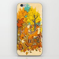 Autumn Eternal  iPhone & iPod Skin