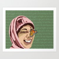 Happiness in Color Art Print