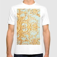 Folie Mens Fitted Tee White SMALL