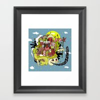 A Place To Escape. Framed Art Print