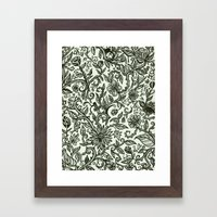Garden Of Relief And Aff… Framed Art Print