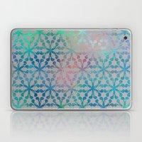 Flower of Life Variation - pattern 3 Laptop & iPad Skin
