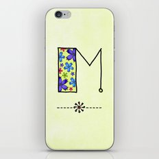 M m iPhone & iPod Skin