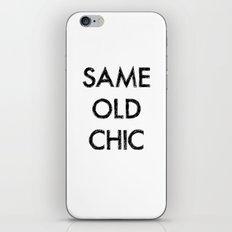 Same old chic iPhone & iPod Skin
