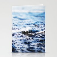 surf Stationery Cards featuring Surf by Leah Flores