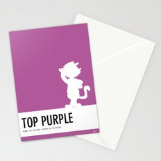 No11 My Minimal Color Code poster Top Cat Stationery Cards