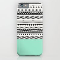 AZTEC AND MINT iPhone 6 Slim Case