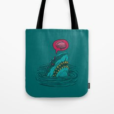 The Zombie Shark Tote Bag