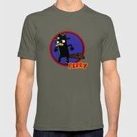 Perry The Platypus as Dick Tracy Mens Fitted Tee Lieutenant SMALL