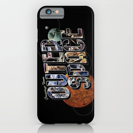 Greetings From Outer Space (color 01) iPhone & iPod Case