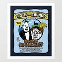 Sloth and Chunk's Ice Cream Art Print