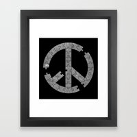 Puzzle Peace Framed Art Print
