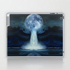 waterfall moon Laptop & iPad Skin