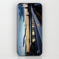 Stockholm Night - Slussen iPhone & iPod Skin