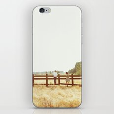 Fence Standing iPhone & iPod Skin