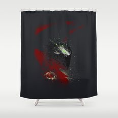 The Godslayer Shower Curtain