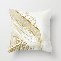Squarey Throw Pillow