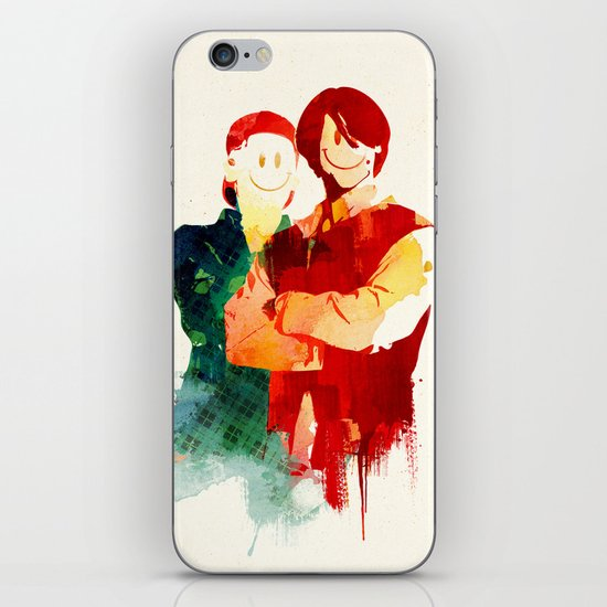 Time Travellers iPhone & iPod Skin