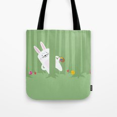 Easter Bunnyville Tote Bag