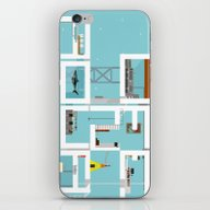 iPhone & iPod Skin featuring LIFE IN AQUA by Kasi Minami