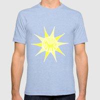 Unicorn Sun Mens Fitted Tee Tri-Blue SMALL