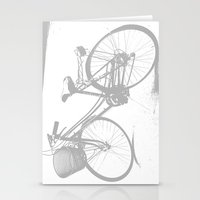 bicycle in Rome...  Stationery Cards
