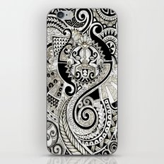 Maori tribal design iPhone & iPod Skin