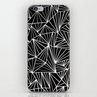 Ab Fan #2 iPhone & iPod Skin