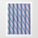Isometric Harlequin #2 Art Print