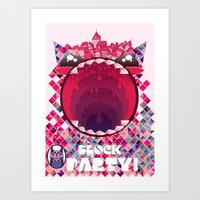 Block Party! Art Print