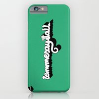 iPhone & iPod Case featuring Lemmesayitall by micheleficeli