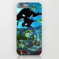 Exploration 3D Aquarium ORCA Slim Case iPhone 6s