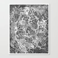 Creature Canvas Print