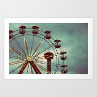 A Night Fair Art Print
