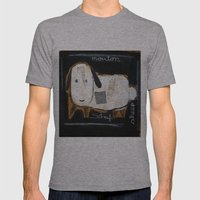 sheep Mens Fitted Tee Athletic Grey SMALL