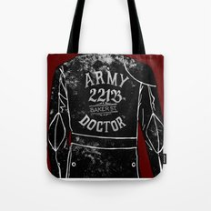 The Army Doctor Tote Bag