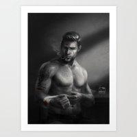 DA Noire - Alistair Art Print