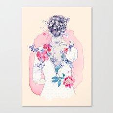 Undress me Canvas Print