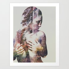 Wilderness Heart #3 Art Print