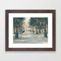 Winter's Guardians Framed Art Print