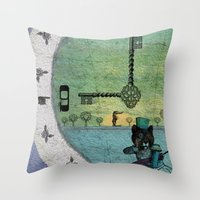Time For Change Throw Pillow