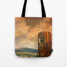 old fuel pump Tote Bag