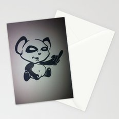 Panda With Attitude Stationery Cards